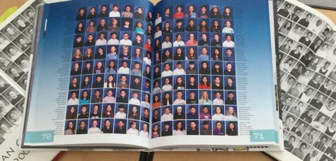 Pictures in yearbooks from  previous years.
