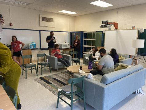 New Teachers Lounge Stuns Thanks to Donation From Ikea of Grand Prairie