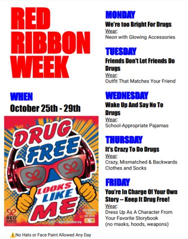 Red Ribbon Week: Drug Awareness Campaign Offers Education and Fun Oct. 25-29